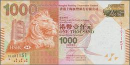 Hong Kong: Hongkong & Shanghai Banking Corporation Limited 1000 Dollars 2012, P.216b In Perfect UNC - Hong Kong
