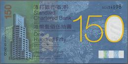 Hong Kong: Standard Chartered Bank 150 Dollars 2009, Commemorating 150 Years Chartered And Standard - Hong Kong