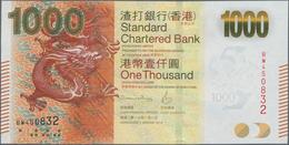 Hong Kong: Standard Chartered Bank (Hong Kong) Ltd 1000 Dollars 2016, P.301e In Perfect UNC Conditio - Hong Kong