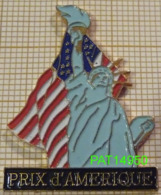 PRIX D' AMERIQUE   Statue De La Liberté PMU  COURSES HIPPIQUES - Jeux