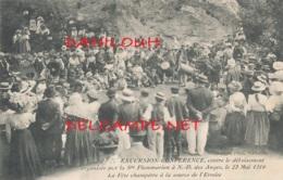 13 // ALLAUCH   Conférence Contre Le Déboisement A NOTRE DAME DES ANGES  22 MAI 1910 / Fete Champetre Source De L Ermite - Allauch