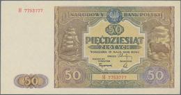 Poland / Polen: 50 Zlotych 1946, P.128 In Perfect UNC Condition. - Poland