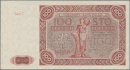 Poland / Polen: 100 Zlotych 1947, P.131a In Perfect UNC Condition. - Poland