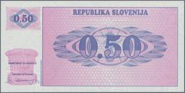 Slovenia / Slovenien: 0,50 Tolarja ND(1990), P.1A In Perfect UNC Condition. - Eslovenia