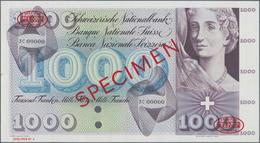 Switzerland / Schweiz: Schweizerische Nationalbank 1000 Franken (1954) TDLR SPECIMEN With Serial Num - Suisse