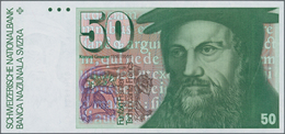 Switzerland / Schweiz: 50 Franken 1987, P.56g In Perfect UNC Condition. - Suisse