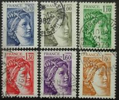 FRANCE Série N°2056 Au 2061 Oblitéré - Timbres