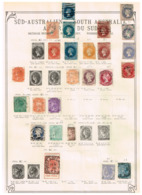 Australie Du Sud South Australia. Ancienne Collection. Old Collection. Altsammlung. Oude Verzameling. - Collections (sans Albums)