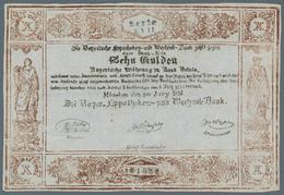 Deutschland - Altdeutsche Staaten: Bayern, Zeitgenössische Fälschung Einer Banknote Bayerische Hypot - [ 1] …-1871 : Etats Allemands
