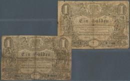 Deutschland - Altdeutsche Staaten: Großherzogl. Hessische Staatsschulden-Tilgungscasse 1 Gulden 1854 - [ 1] …-1871 : Etats Allemands