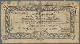 Deutschland - Altdeutsche Staaten: Churfürstl. Sächs. Cassen-Billet 2 Reichstaler 1804, PiRi A381, S - [ 1] …-1871 : Etats Allemands