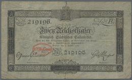 Deutschland - Altdeutsche Staaten: Königlich Sächsiches Cassenbillet 2 Reichsthaler 1818, PiRi A385, - [ 1] …-1871 : Etats Allemands