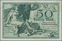 Deutschland - Deutsches Reich Bis 1945: 50 Mark Reichskassenschein 1899, Ro.18, Sehr Schöner Farbfri - Non Classés