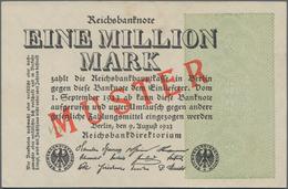 Deutschland - Deutsches Reich Bis 1945: 1 Million Mark 1923 Muster Aus Laufender Serie Mit Fz. VD Un - Non Classés