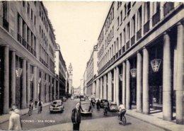 1957 Cartolino TORINO  Via Roma - Franc - Italia
