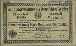Deutschland - Deutsches Reich Bis 1945: Zeitgenössische Fälschungen Der Schatzanweisungen Zu 4,20 Ma - Non Classés