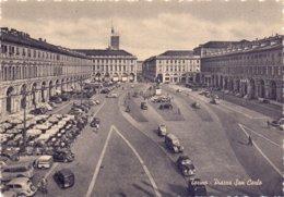 Cartolina TORINO PIAZZA S.CARLO NUOVA - Franc - Lugares Y Plazas