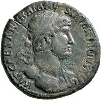 Hadrian (117 - 138): Æ Sesterz (sestertius). Kopf Mit Lorbeerkranz Nach Rechts, IMP CAESAR TRIANVS H - 3. Die Antoninische Dynastie (96 / 192)