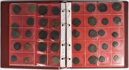 Antike: Album Mit Ca. 160 Æ-Münzen Des 4. Jhd. V.Chr. Bis In Die Byzantinische Zeit, Dabei Einige In - Antike