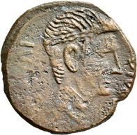 Antike: Lot 8 Bronzemünzen Aus Der Römischen Kaiserzeit, Schön-sehr Schön, Sehr Schön, Sehr Schön-vo - Antike