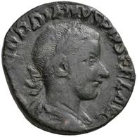 Antike: Lot 25 Antike Silber- Und Bronzemünzen, Meist Gordianus III. 238-244, Sesterze, As, Denare A - Antike
