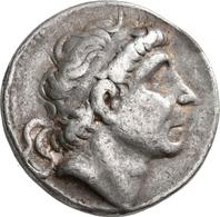 Antike: Lot 12 Silbermünzen, U. A. Makedonien, Römische Republik Und Römische Kaiserzeit. Meist Sehr - Antike