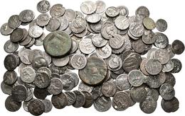 Antike: Römische Republik: Lot Circa 160 Stück; Meist AR-Denare Mit Münzmeisterzeichen. Darunter Auc - Antike