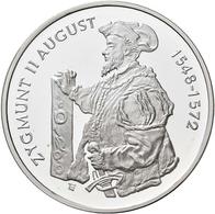 Polen: 10 Zlotych 1996, Zygmunt II. August, KM# Y 308, Fischer K (10) 005. Polierte Platte. - Pologne