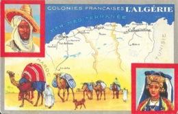 Les Colonies Françaises: L'Algérie - Publicité: Edition Des Produits Du Cirage Le Lion Noir - Publicité