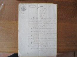 18 8bre 1848 ECHANGE ENTRE MICHEL DUPONT PROPRIETAIRE A  VIEUX MESNIL ET AIME PERIN PROPRIETAIRE A BOUSSIERES DE - Manuscrits