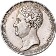 Medaillen Deutschland: Ansbach: Silbermedaille 1826, Von Johann Jakob Neuss, Auf Den Tod Des Königli - Zonder Classificatie