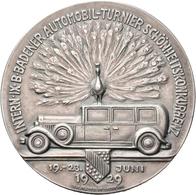 Medaillen Deutschland: Baden: Bronzemedaille 1929, Versilbert, Geprägt Bei B.H. Mayer,Pforzheim. Pre - Zonder Classificatie