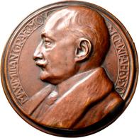 Medaillen Deutschland: Bayern: Bronzegußmedaille 1912, Auf Den 50. Geburtstag Von Maximilian Maria G - Zonder Classificatie