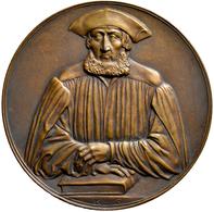 Medaillen Deutschland: Bayern: Bronzemedaille 1929 Von Karl Goetz, Auf Den Historiker Und Numismatik - Zonder Classificatie