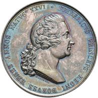 Medaillen Deutschland: Brandenburg-Preußen, Friedrich Wilhelm III. 1797-1840: Silbermedaille 1838, V - Zonder Classificatie