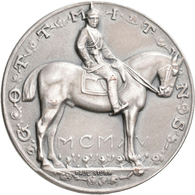Medaillen Deutschland: Brandenburg-Preußen, Wilhelm II. 1888-1918: Silbermedaille 1915 Von P. Sturm, - Zonder Classificatie