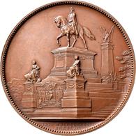 Medaillen Deutschland: Breslau/Schlesien: Bronzemedaille 1896, Stempel Von G. Pniower, Auf Die Enthü - Zonder Classificatie