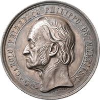 Medaillen Deutschland: Erlangen: Silbermedaille 1864, Stempel Von Carl Radnitzky, Zum 50jährigen Ber - Zonder Classificatie