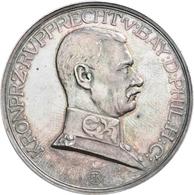 Medaillen Deutschland: Erlangen: Silbermedaille 1925, Von König, Gebert Und Balmberger, Auf Die Verl - Zonder Classificatie