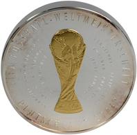 Medaillen Deutschland: FIFA-Fußball WM Deutschland 2006: Offizielle Erstprägung In 1 Kilogramm Sterl - Zonder Classificatie