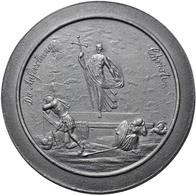 Medaillen Deutschland: Fürth: Einseitige Zinngussmedaille O. J., Von Johann Georg Loeffler Der Jünge - Zonder Classificatie