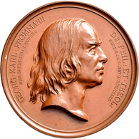 Medaillen Deutschland: Nürnberg: Bronzemedaille 1887 Von L.Chr. Lauer, Auf Den Tod Des Zweiten Direk - Zonder Classificatie