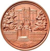 Medaillen Deutschland: Nürnberg: Bronzemedaille 1889 Von L. Chr. Lauer, Auf Die 100-Jahrfeier Der Fr - Zonder Classificatie