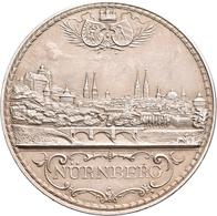Medaillen Deutschland: Nürnberg: Silbermedaille 1910 Von L. Chr. Lauer, Auf Den 1. Margaretentag. St - Zonder Classificatie