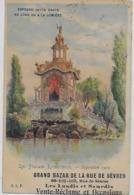 PARIS. CPA.. GRAND BAZAR DE LA RUE DE. SÈVRES. LE PALAIS LUMINEUX POUR LA PUBLICITÉ DE L'EXPOSITION.1900. - Pubblicitari