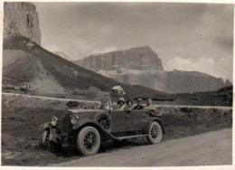 Photo Originale Tacot à Ident. - MERCEDES BENZ Type Stuttgart 260 Cabriolet, Torpédo, Delage, Fiat 519, Rolls-Royce ... - Automobili