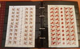 Israel - Grosse Collection En Album - Timbres Avec Tabs , Blocs , Carnets , Feuilles Etc...deuxieme Partie - Israel