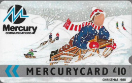 UK (Mercury) - Christmas 1988, 8MERC-MER010, 15.000ex, Used - Reino Unido
