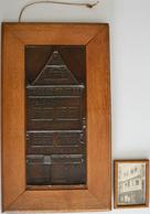 Medaillen Deutschland: JUDAICA / Frankfurt A.M.: Große Bronzeplakette 1914, Von Max Lewy (1855-1920) - Zonder Classificatie