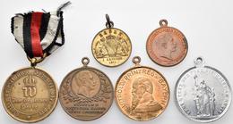 Medaillen Deutschland: Kleines Lot 6 Diverse Medaillen 1870 - 1911. Dabei U.A. Preußen Siegreiches H - Zonder Classificatie